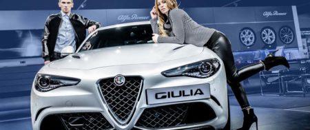Sesja zdjęciowa z Giulią w roli głównej