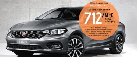 Fiat Tipo w ofercie dla kierowców Bolt, Uber, Taxi