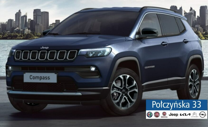 Jeep Compass 1.3 150 KM Automat MY22 | Limited | Blue Shade | NOWY MODEL