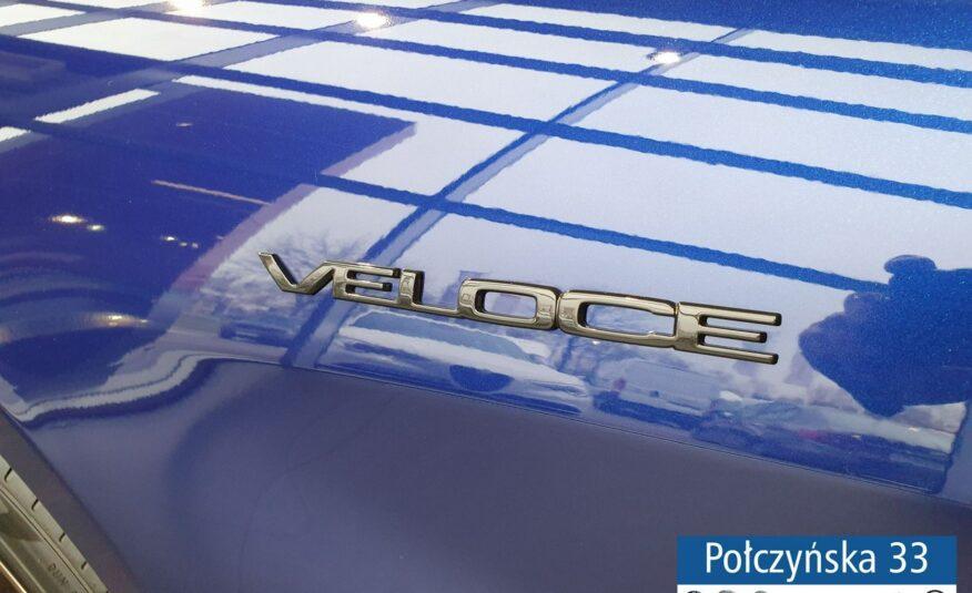 Alfa Romeo Giulia Veloce Q4 AT 2.0 280 KM | Niebieski Anodized | Czarna skóra| RP2021