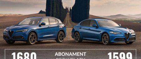 Alfa Romeo Stelvio i Giulia – wynajem długoterminowy i abonament