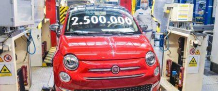 Dwuipółmilionowy Fiat 500 wyprodukowany w tyskiej fabryce Stellantis