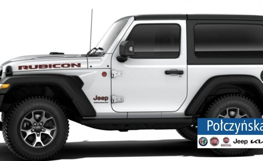 Jeep Wrangler JL 3 drzwiowy Rubicon 2.0 272KM   Biały / Czarna skóra