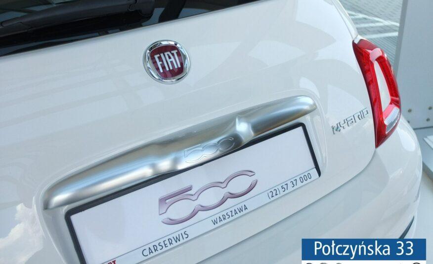 Fiat 500 1.0 Hybrid | wersja Hey Google | Biały |2021